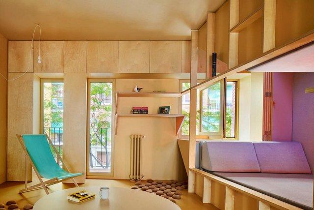 Ця незвичайна квартира у Мадриді має власний крихітний город: фото - фото 356426