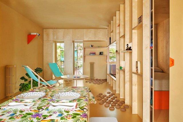 Ця незвичайна квартира у Мадриді має власний крихітний город: фото - фото 356427