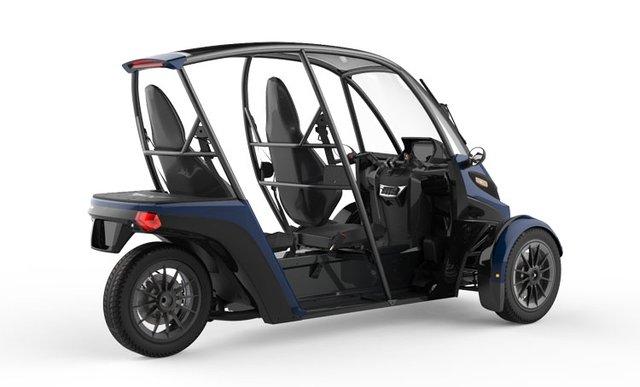 У продаж надійшов триколісний електромобіль Arcimoto SRK - фото 356454