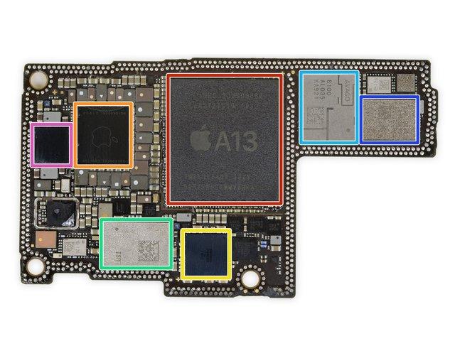 Фахівці iFixit розібрали iPhone 11 Pro Max: що цікавого ховається всередині - фото 356626
