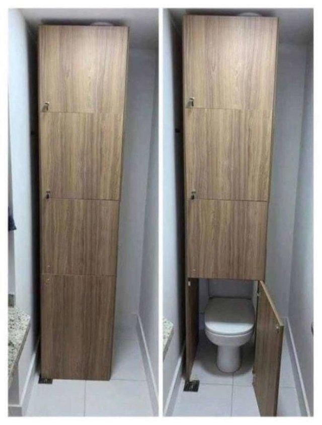 Дизайни вбиралень, які тримають у напрузі: епічні фото - фото 356737