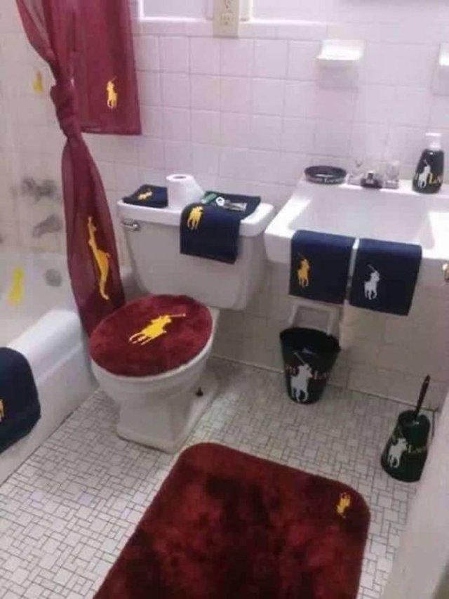 Дизайни вбиралень, які тримають у напрузі: епічні фото - фото 356747