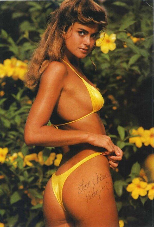 Моделі 90-х: як змінилася ефектна красуня Кеті Айрленд (18+) - фото 357447
