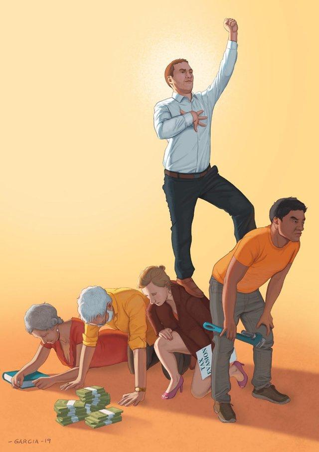 Проблеми сучасного суспільства у гострих ілюстраціях - фото 357819