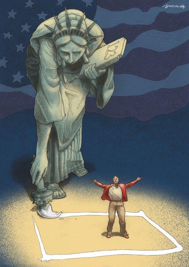 Проблеми сучасного суспільства у гострих ілюстраціях - фото 357825