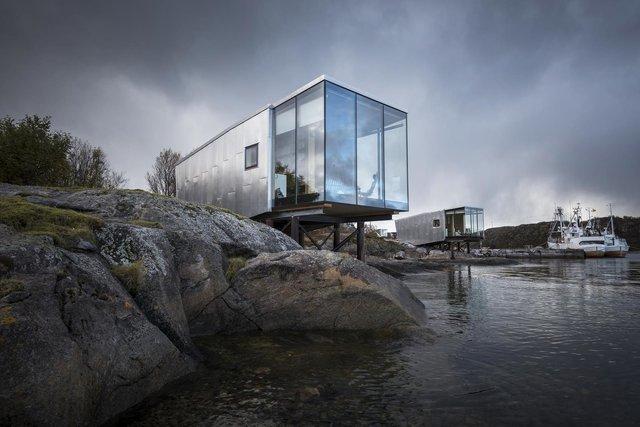 Еко-готель у Норвегії, про який мріють туристи: яскраві фото - фото 358079