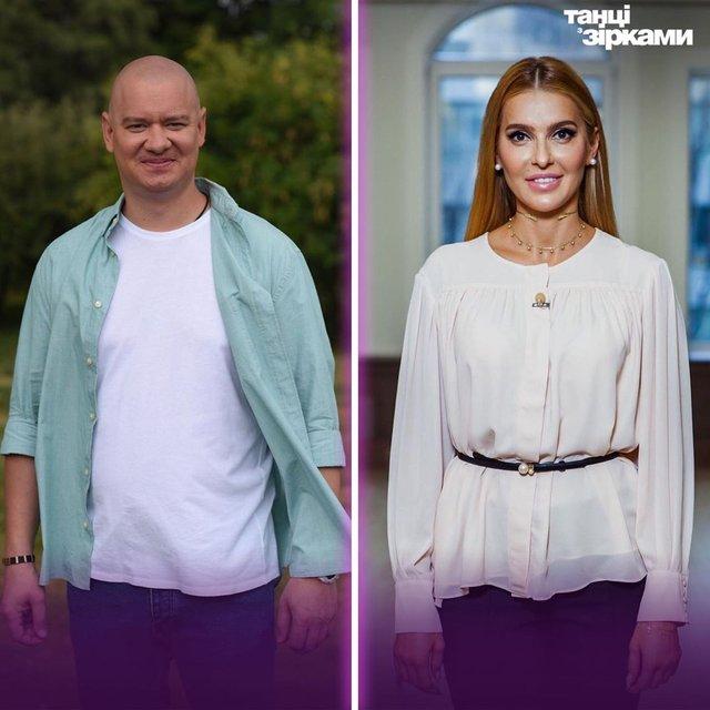 На балконі пари зустрічатиме Євген Кошовий і Анна Буткевич - фото 358316
