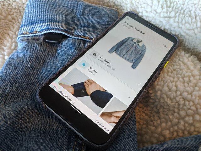Google і Levi's випустили 'розумну' куртку, яка управляє музикою і робить селфі — фото 358886
