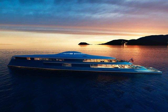 У Монако показали концепт розкішної екологічної яхти - фото 359092