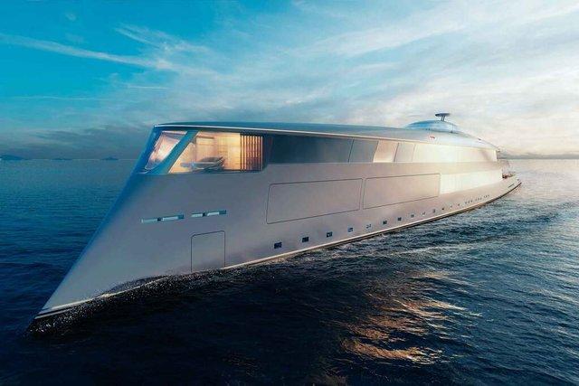 У Монако показали концепт розкішної екологічної яхти - фото 359093