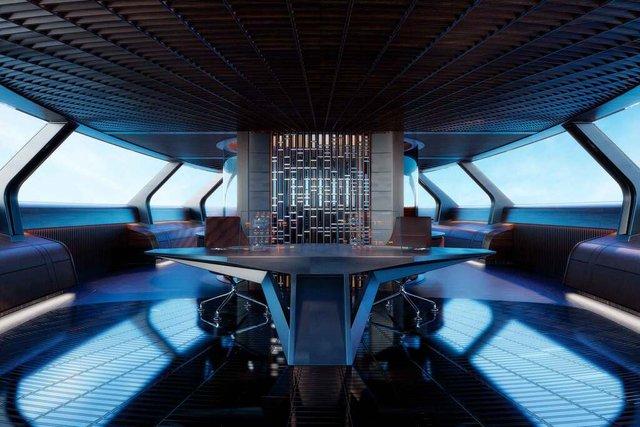 У Монако показали концепт розкішної екологічної яхти - фото 359094