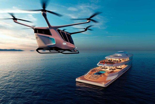 У Монако показали концепт розкішної екологічної яхти - фото 359095