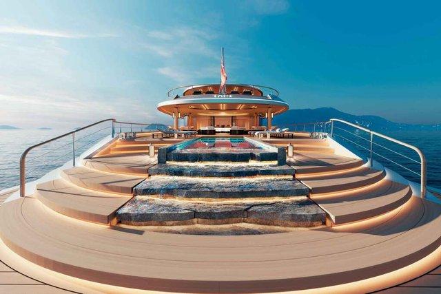 У Монако показали концепт розкішної екологічної яхти - фото 359099