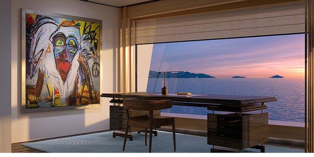 У Монако показали концепт розкішної екологічної яхти - фото 359100