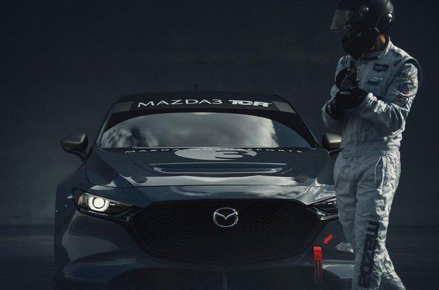 Mazda3 перетворили на дуже крутий спорткар - фото 359106