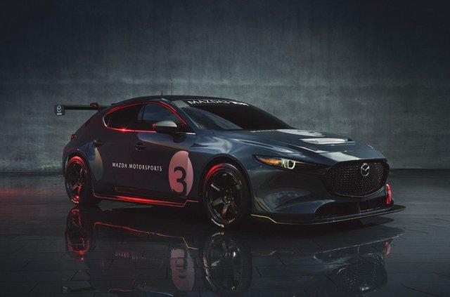 Mazda3 перетворили на дуже крутий спорткар - фото 359109