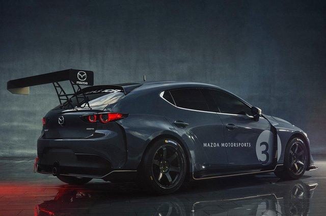 Mazda3 перетворили на дуже крутий спорткар - фото 359112