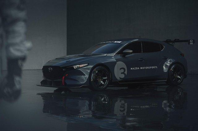 Mazda3 перетворили на дуже крутий спорткар - фото 359113