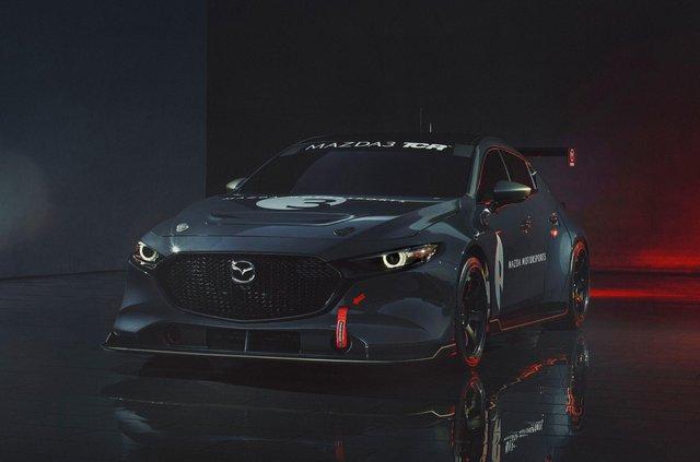 Mazda3 перетворили на дуже крутий спорткар - фото 359115
