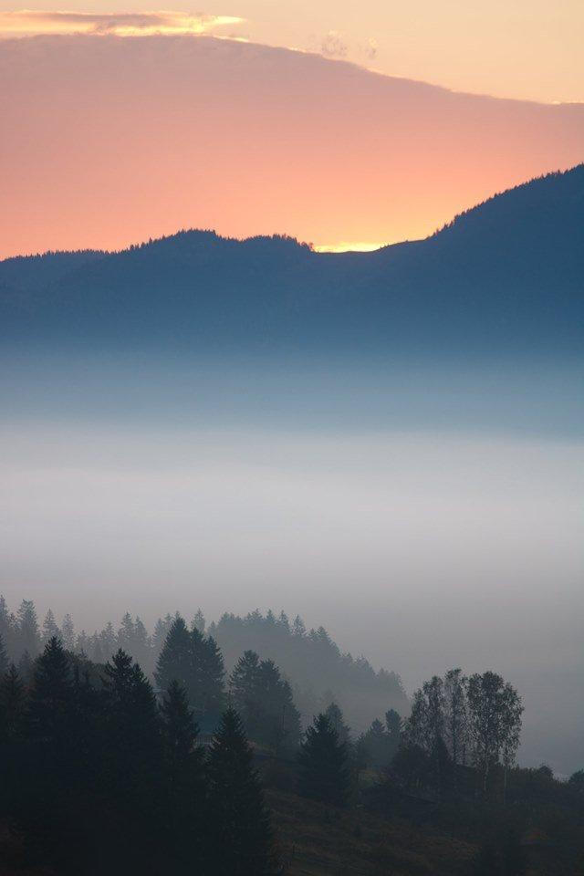 Осінній ранок у Карпатах: приголомшливі фото гір, які надихнуть вас на подорож - фото 359433