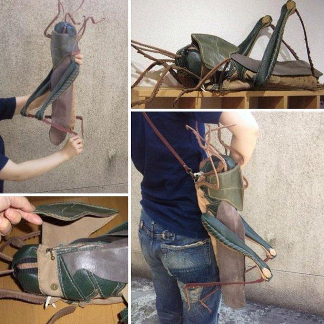 Японець створює реалістичні сумки, які сподобаються не всім (фото) - фото 359447