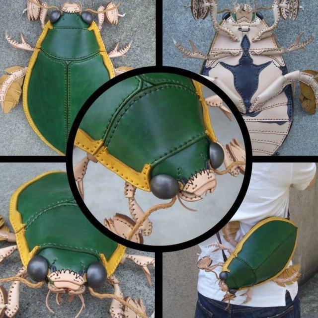 Японець створює реалістичні сумки, які сподобаються не всім (фото) - фото 359457