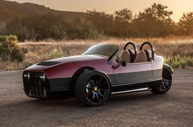 Американці показали крутий триколісний автомобіль, потужніший за Ford Mustang - фото 360047