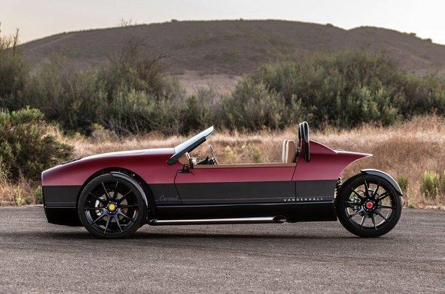Американці показали крутий триколісний автомобіль, потужніший за Ford Mustang - фото 360048