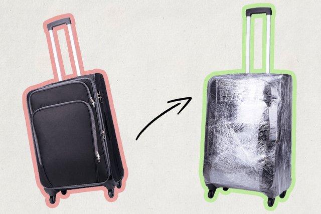 Чому не варто обмотувати валізу плівкою - фото 360180
