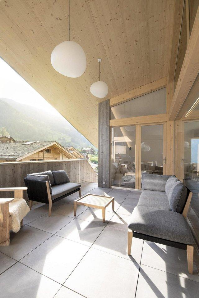 Як виглядає ідеальний дім в Альпах для любителів опокою - фото 360259