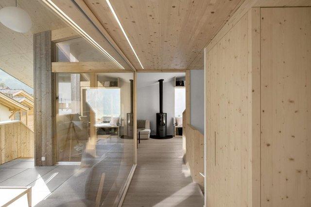 Як виглядає ідеальний дім в Альпах для любителів опокою - фото 360260