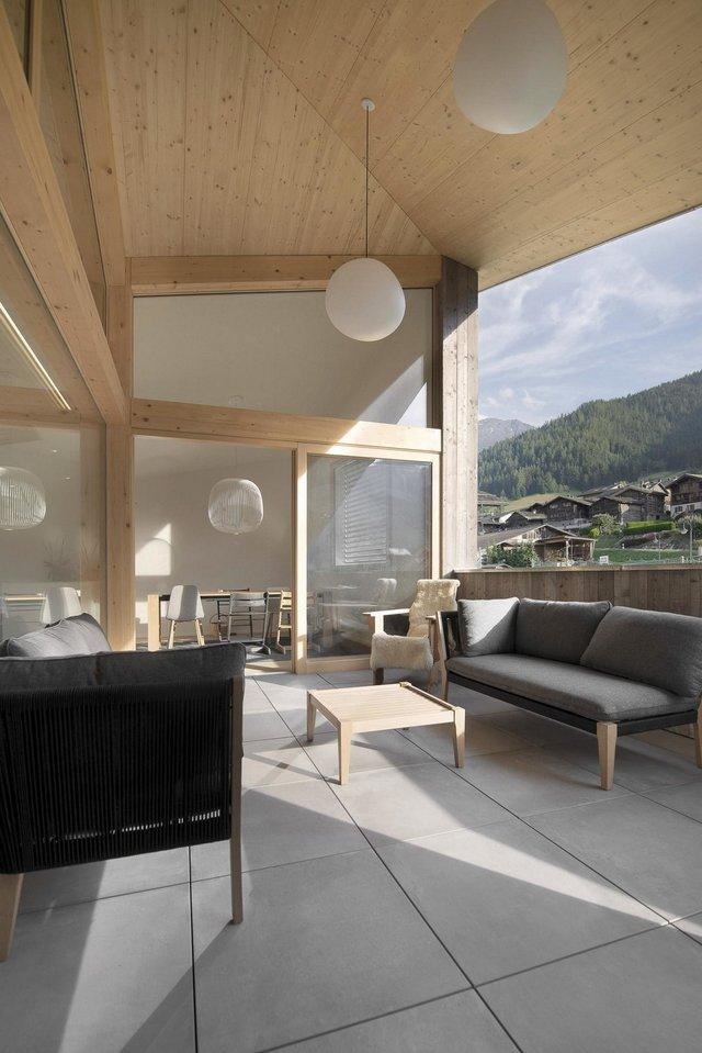 Як виглядає ідеальний дім в Альпах для любителів опокою - фото 360261