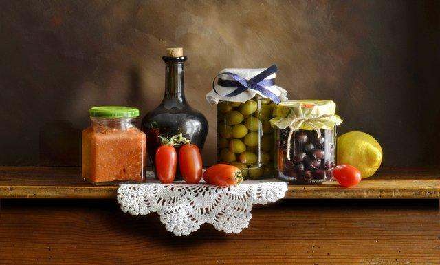 Оливки і маслини   - фото 360442