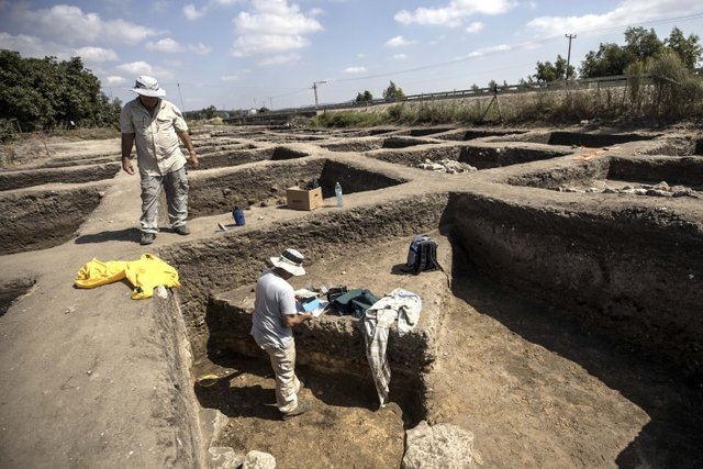 В Ізраїлі розкопали 'Нью-Йорк бронзового століття' - фото 360651