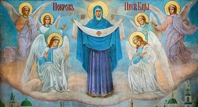 Велике свято Покрова Пресвятої Богородиці  - фото 361018