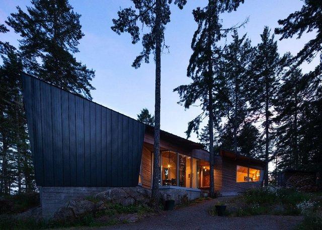 Архітектори створили незвичайний дім посеред лісу в Канаді: фото - фото 361309