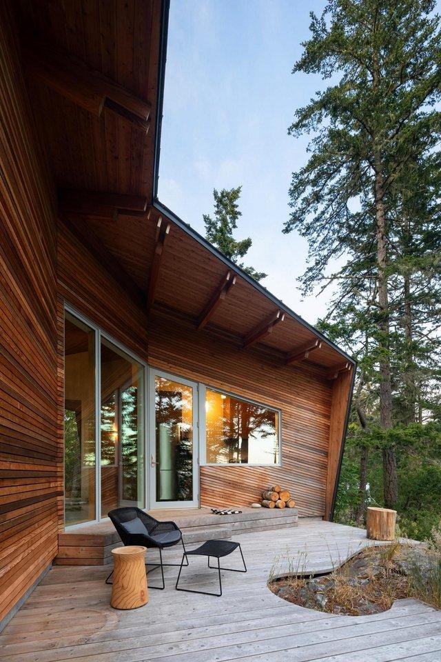 Архітектори створили незвичайний дім посеред лісу в Канаді: фото - фото 361312