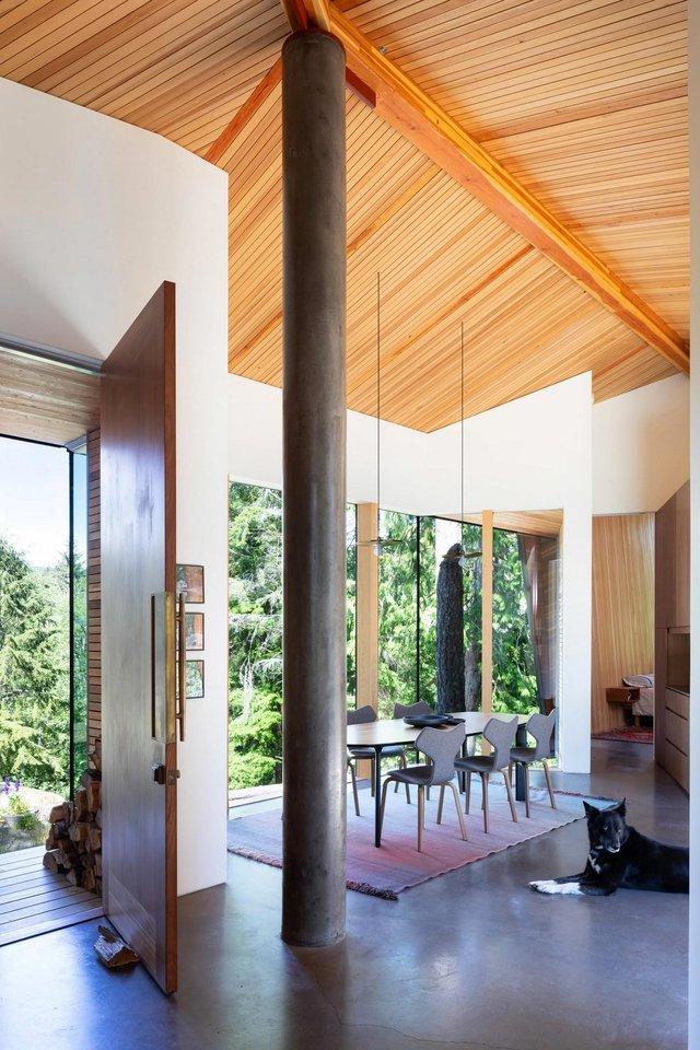 Архітектори створили незвичайний дім посеред лісу в Канаді: фото - фото 361314