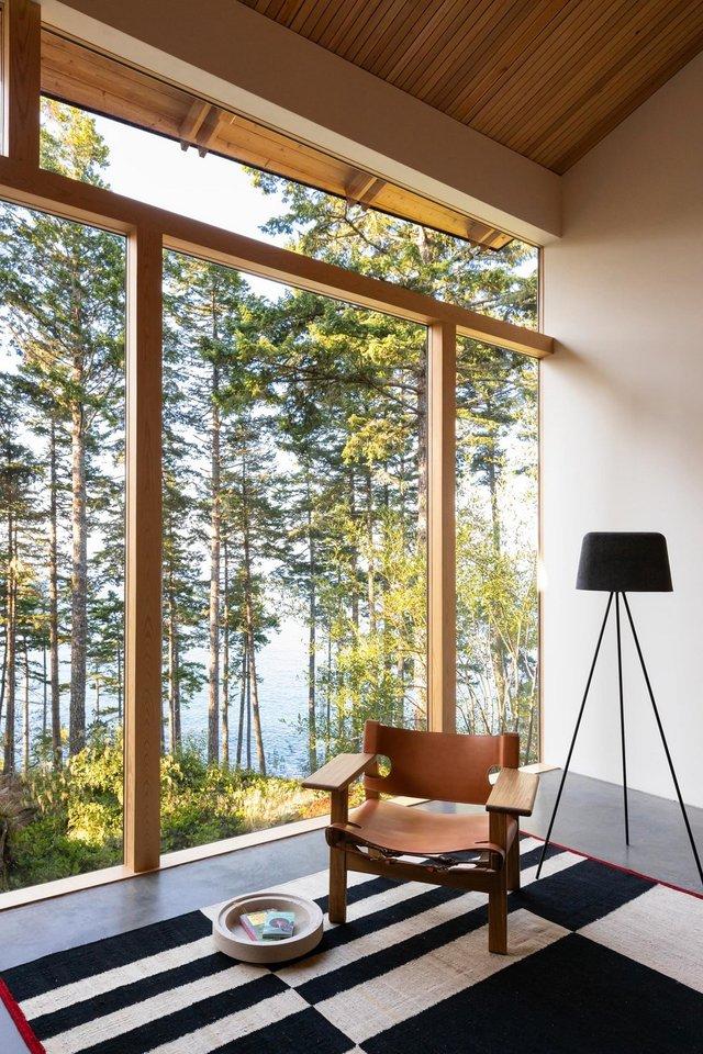 Архітектори створили незвичайний дім посеред лісу в Канаді: фото - фото 361316