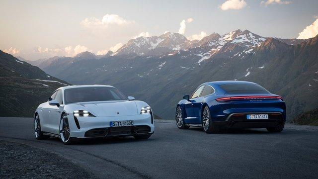 Представлений стильний електромобіль Porsche Taycan - фото 361735