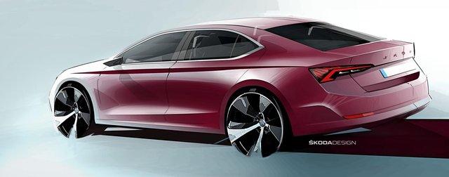 Дизайнери показали, як виглядатиме нова Skoda Octavia - фото 362213