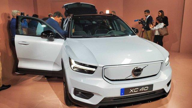 Volvo представила свій перший електромобіль: фото - фото 362277