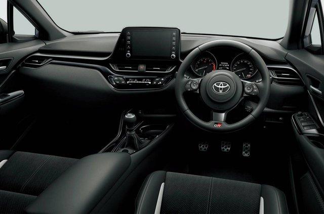 Кросовер Toyota C-HR отримав спортивну версію - фото 362329
