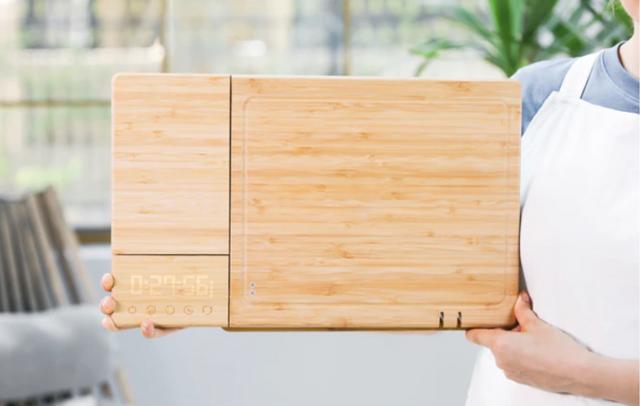 На Kickstarter збирають гроші на 'розумну' дошку для нарізання: що вона вміє - фото 362423