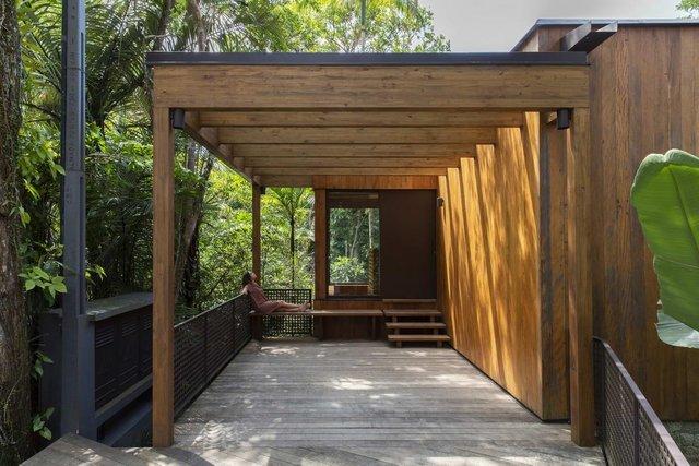 Як виглядає дім мрії у бразильському лісі: фото - фото 362636