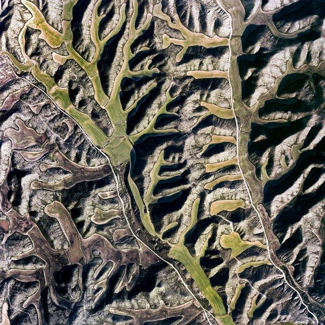 Не туристична Іспанія з висоти пташиного польоту: захопливі фото - фото 362803