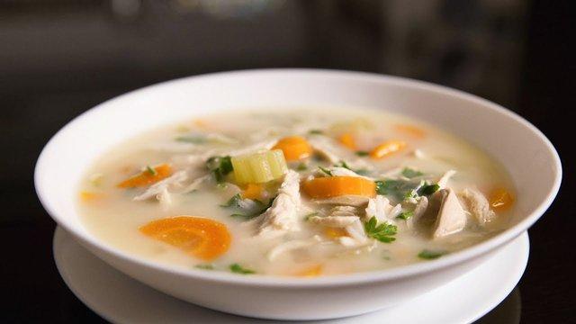 Курячий суп з рисом - фото 362954