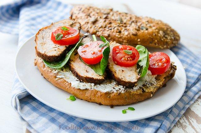 Ароматне філе на бутерброд - фото 362956