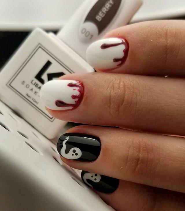 Манікюр на Хеловін 2019: модні тренди дизайну нігтів у фото - фото 363035