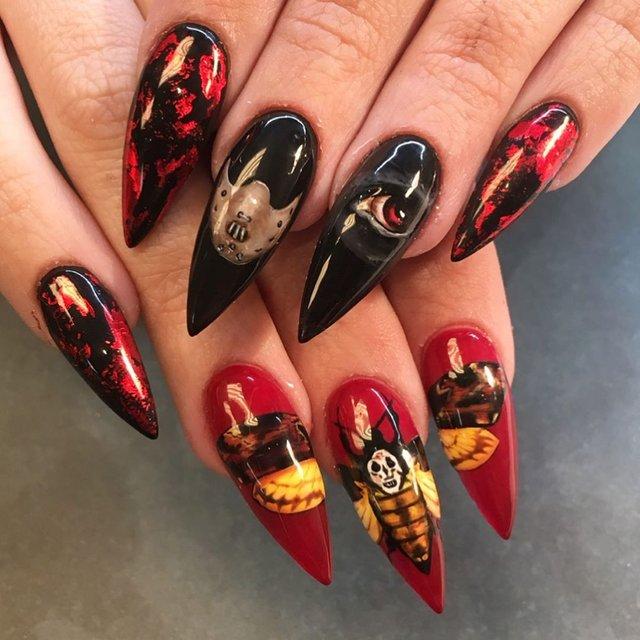 Манікюр на Хеловін 2019: модні тренди дизайну нігтів у фото - фото 363038